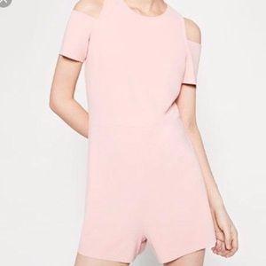 Zara pale pink romper - NEVER WORN